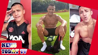 Alexis Sanchez trains alone as United ace unable to join US tour