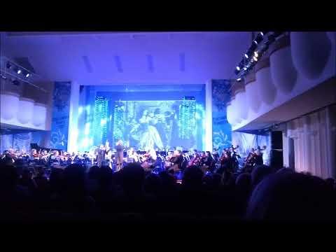 Новогодний концерт Ростовского академического симфонического оркестра в филармонии в конце декабря 2