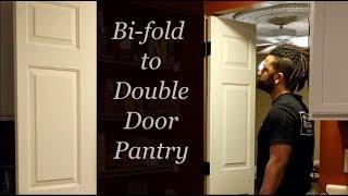 Converting Bi-fold Doors to Double/French Doors