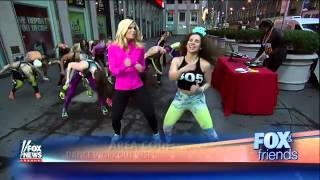 Turning your workout into a New Year's Eve dance party