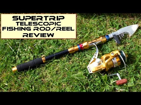 Supertrip Telescopic Fishing Rod + Reel: Review
