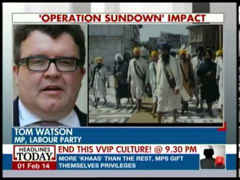 British MP talks about Operation Sundown and Operation Blue Star