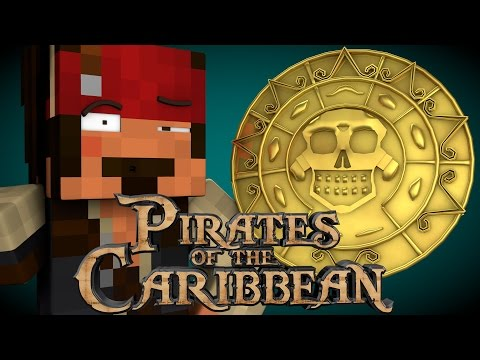 Minecraft Parody - PIRATES OF THE CARIBBEAN! - (Minecraft Animation)
