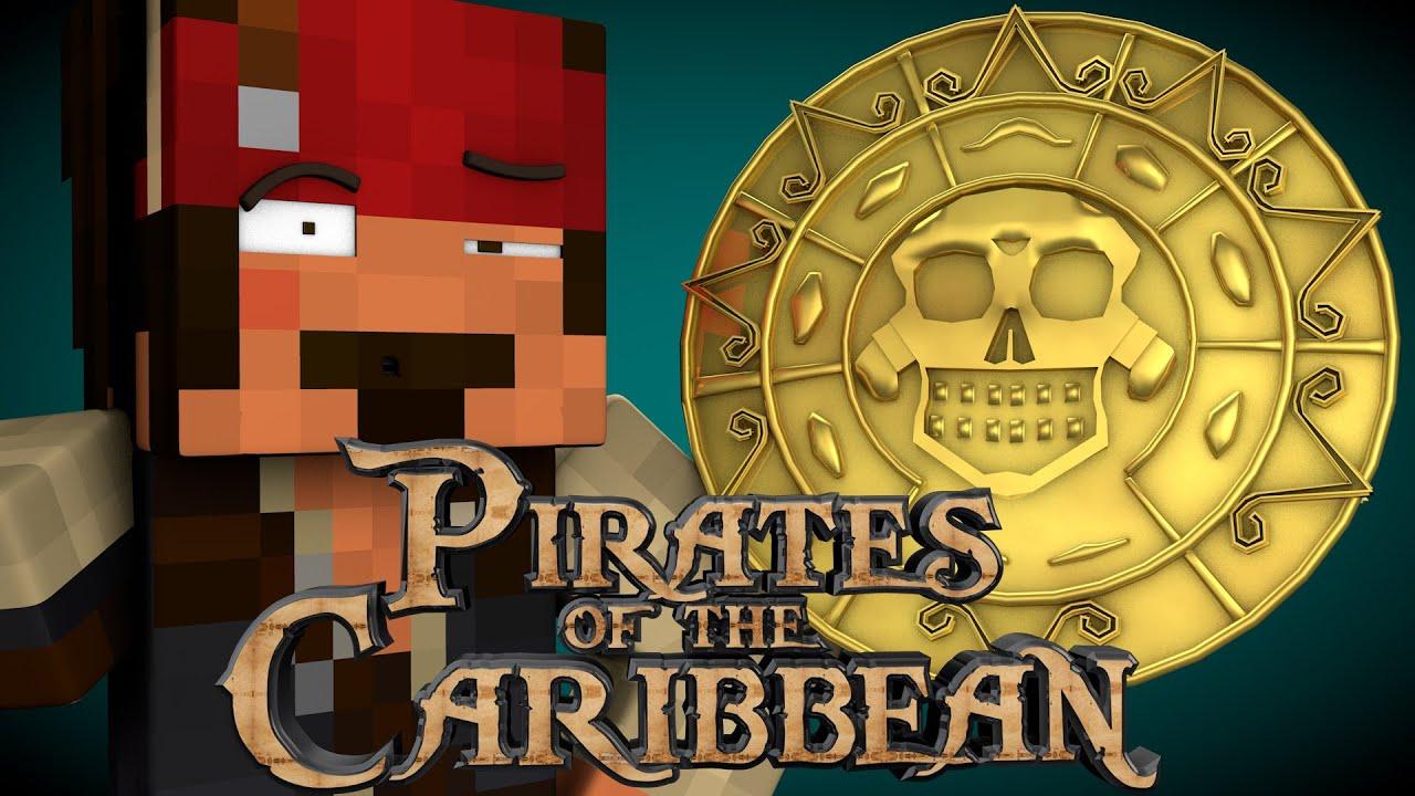 Minecraft Parody PIRATES OF THE CARIBBEAN Minecraft Animation - Minecraft horror hauser
