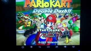 Dolphin Android on UBOX 4k (Rockchip RK3288) GameCube - Mario Kart: Double Dash!! (Part 2)
