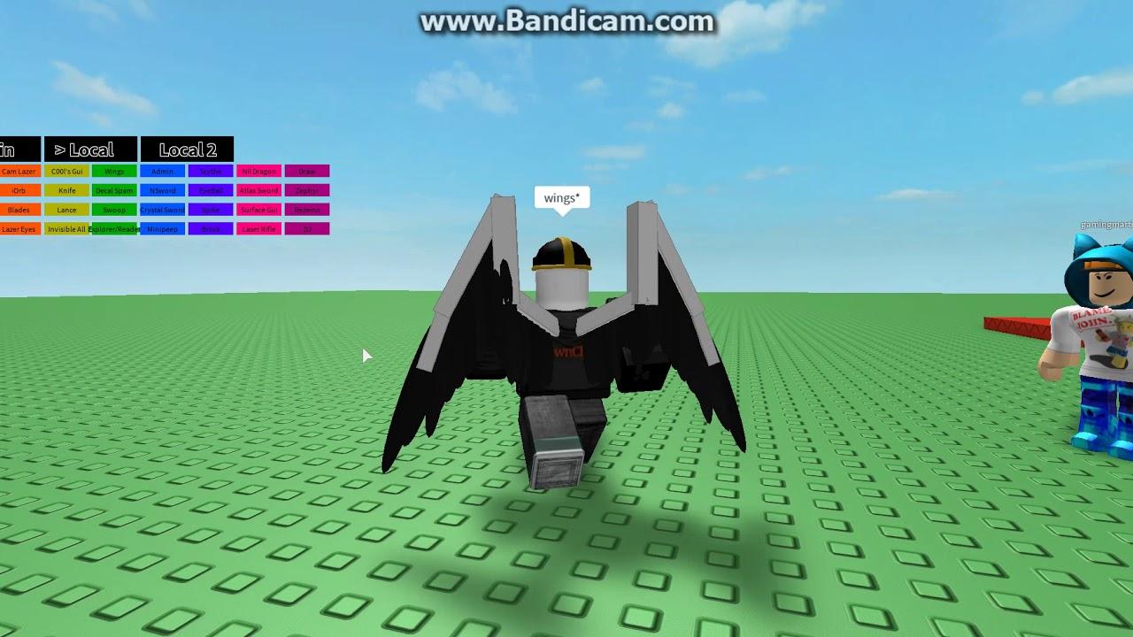 Roblox Hack Script 1 | Wings Script | Roblox - YouTube