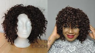 HOW TO || LET'S MAKE A SIMPLE CROCHET WIG