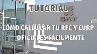[Tutorial] Cómo calcular RFC y CURP oficiales   Número de seguridad social