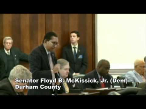 Sen. Floyd McKissick  on SB34 - expanding the Castle Doctrine