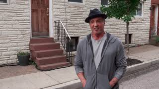 """Creed 2: Sylvester Stallone """"Rocky Balboa"""" Behind the Scenes Movie Interview"""