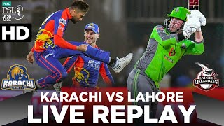 PSL 2021 | LIVE REPLAY | Lahore Qalandars vs Karachi Kings | Match 11 | HBL PSL 6 | MG2E