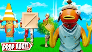 CHEATING in *NEW* PROP HUNT Fortnite Battle Royale Game Mode! *FUNNY* (Fortnite Creative Mode)