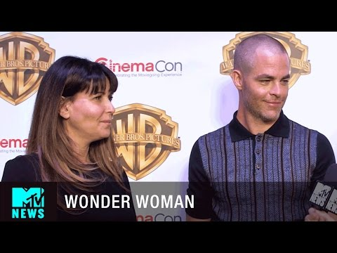 Chris Pine & Patty Jenkins on 'Wonder...
