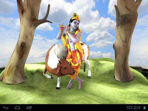 Krishna : Free Animated 3D Live Wallpaper For Mobiles