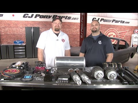 Mustang Ridetech Air Ride Suspension Overview