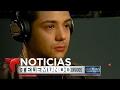 Cantante Luis Coronel teme por la deportación de su madre   Noticiero   Noticias Telemundo