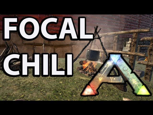 How To Craft Focal Chili Ark Survival Evolved Youtube