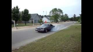 Rose's 1st burnout ever, used my 1985 WH1 T-Type Turbo Buick Regal for it.