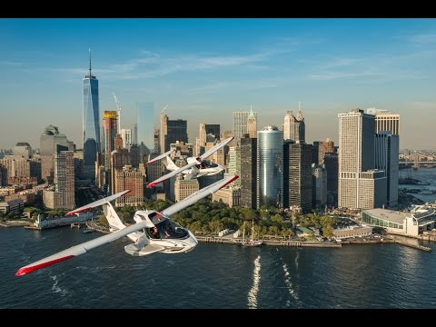 Flying the ICON A5 in New York City