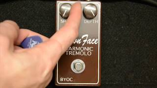 BYOC Brown Face Harmonic Tremolo