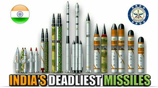 India's Deadliest Missile - List Of Powerful Indian Missiles | Future Indian Missiles (Hindi)