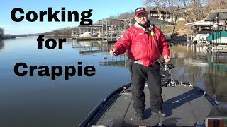 Corking For Crappie On Lake Of The Ozarks #16 (3-16-2019)