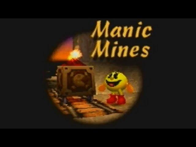 Pac-Man World: Manic Mines