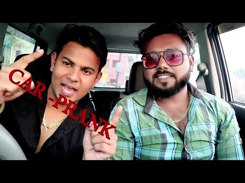 Car prank||pranks in india||by amit and ravi||ar jatav's||2018