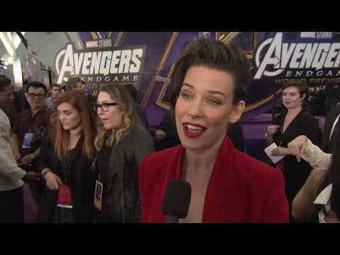 Avengers Endgame World Premiere with EVANGELINE LILLY