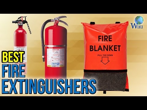 8 Best Fire Extinguishers 2017