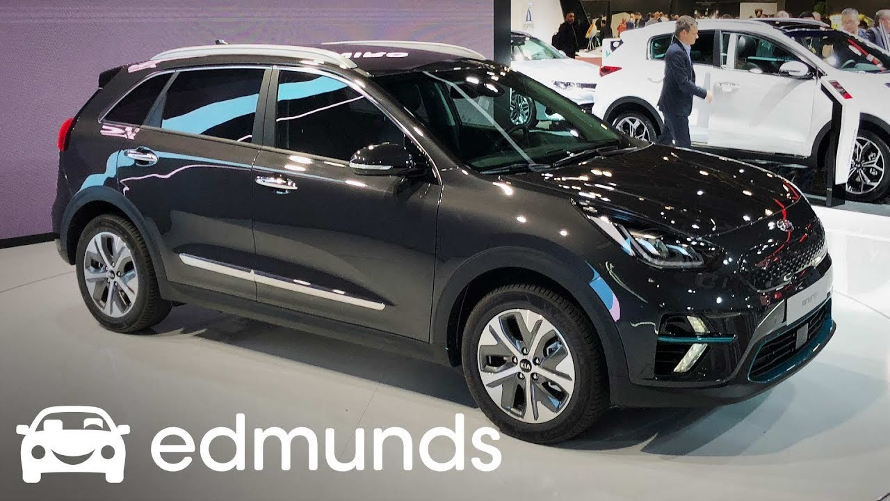2019 Kia Niro Ev Rolls Out At Paris Auto Show Edmunds