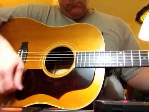 Vintage Gibson Acoustic Guitar J50 J45 1967 Youtube