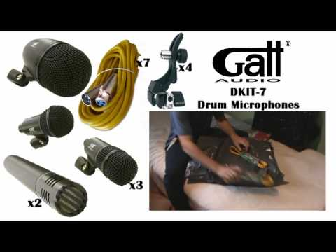 Gatt Drum Mic Set Review : gatt audio drum mics sound test unboxing review youtube ~ Hamham.info Haus und Dekorationen