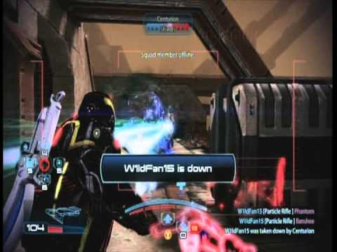 Mass Effect 3 Particle Rifle Beam Team (Platinum Gameplay)