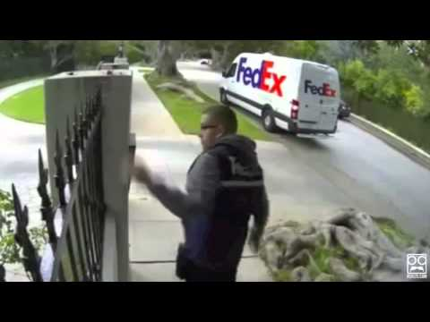 Shocking FedEx Delivery Fails [Super Cut Compilation]