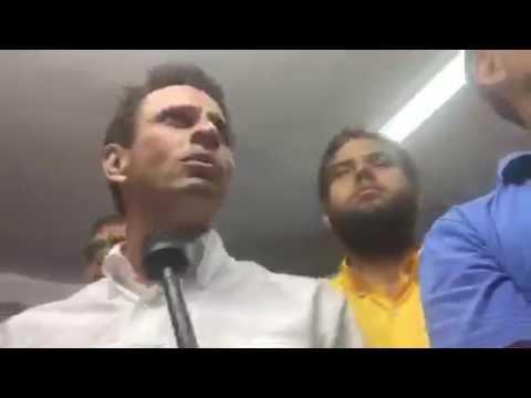 Declaraciones de Henrique Capriles Radonski #29Mayo