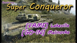 WORLD OF TANKS: Top EU Player Super Conqueror Show, [FAME] Lakeville, [GO-IN] Malinovka WoT