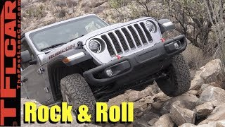 Most Dirt Worthy Jeep Ever! All New 2018 Jeep Wrangler Jl Off-Road Review
