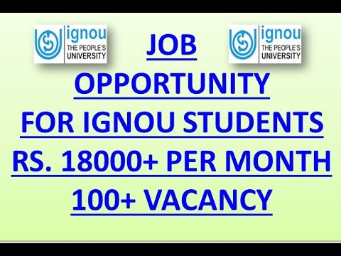 jobs-opportunity-for-ignou-students