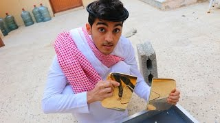 breaking youtube 1 million gold play button whats inside it
