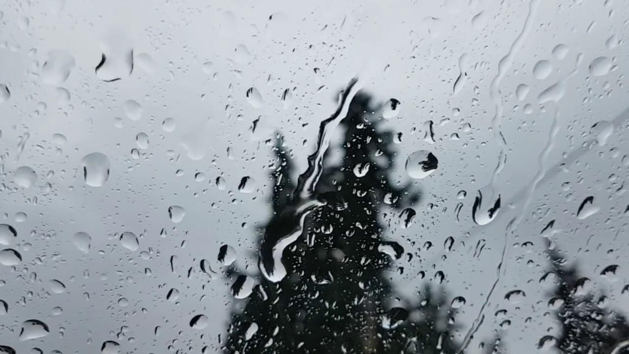 صوت المطر mp3 بدون موسيقى
