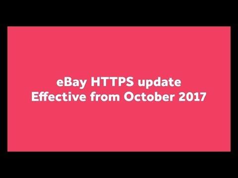 New eBay Policy 2017 - HTTPS Protocol