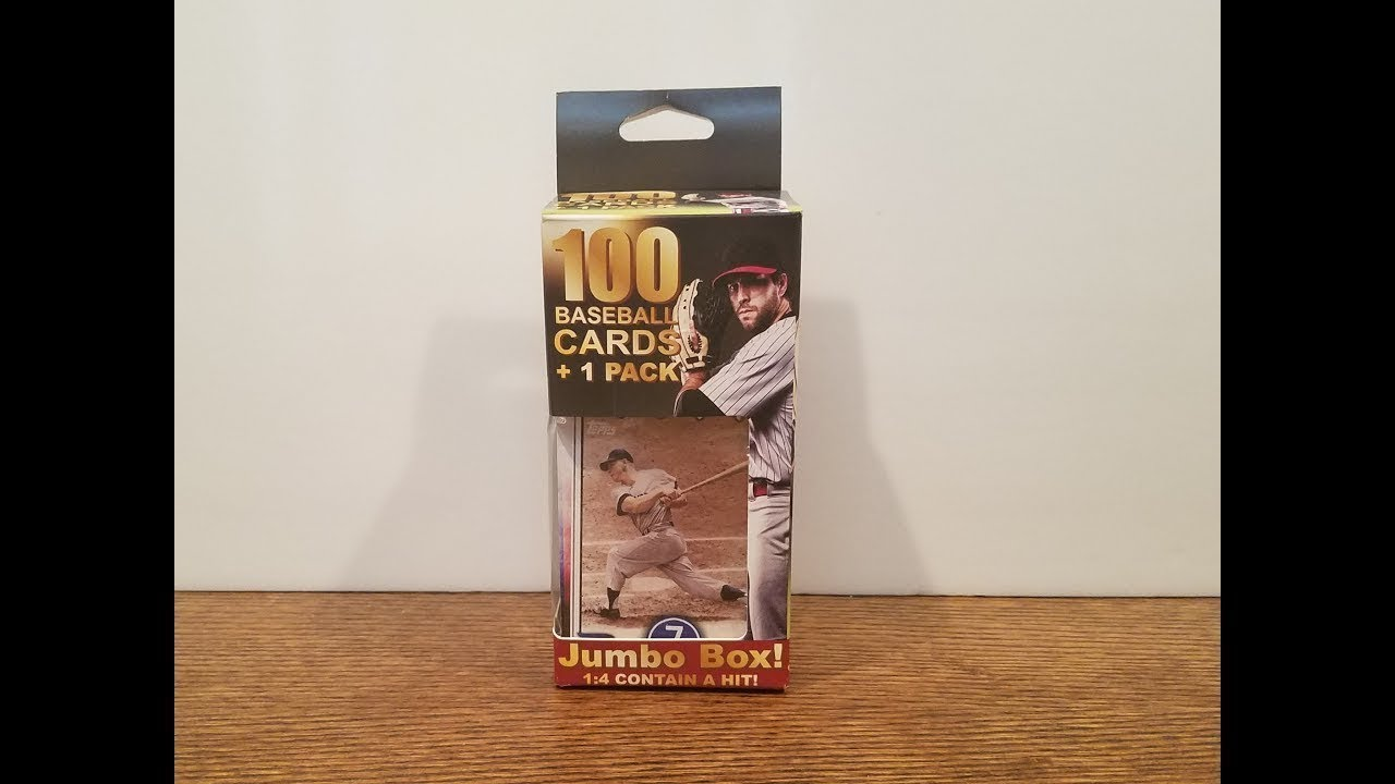 Walgreens Fairfield 100 Baseball Cards 1 Pack Opening