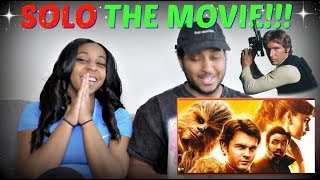 """Solo: A Star Wars Story"" Official Trailer REACTION!!!"