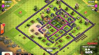 clash of clans full sorcier lvl 5 encore hehe