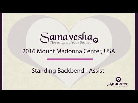 Standing Backbend - Assist