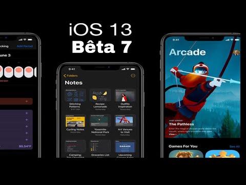 iOS 13 BÊTA 7: les nouveautés + correctif de bugs !