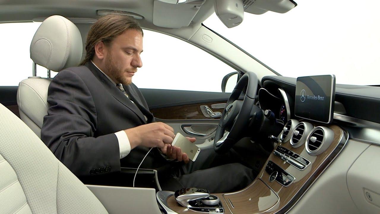 2014 mercedes c class apple carplay demo youtube - 2014 mercedes c class interior ...