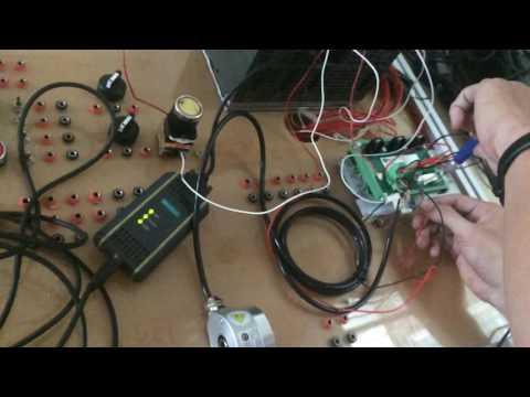 Đếm xung và đếm số vòng quay của động cơ  bằng encoder ElCO và PLC S7-300