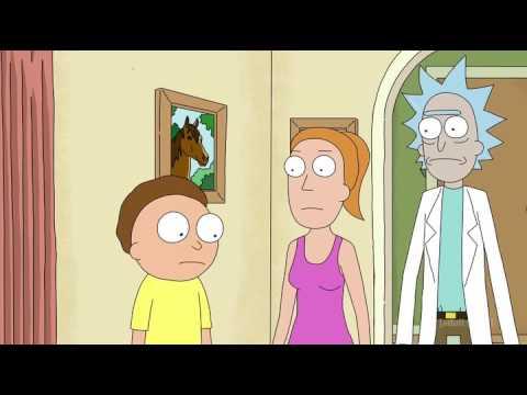 Morty Robot Clone gains and loses self-awareness.